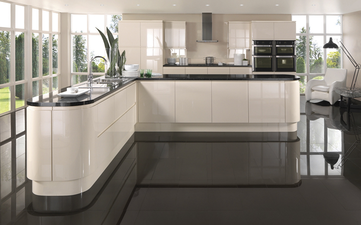 Design your kitchen with shiny appliances Design Your Kitchen With Real Style And Beauty