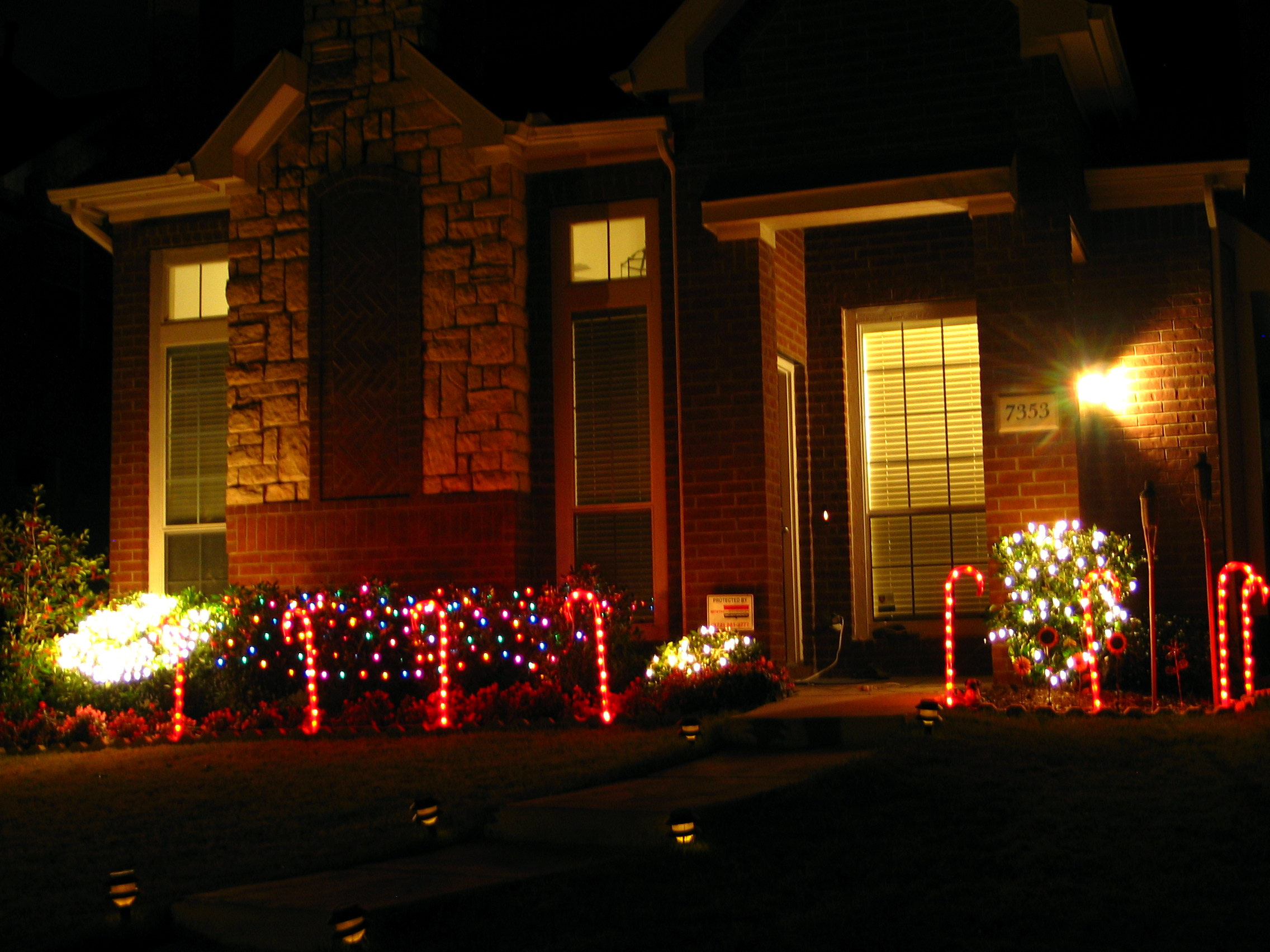 Easy Outdoor Christmas Decorating Ideas.Easy Christmas Light Decoration Ideas Easy Craft Ideas